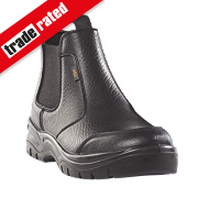 Site Scoria Chelsea Safety Boots Black Size 6